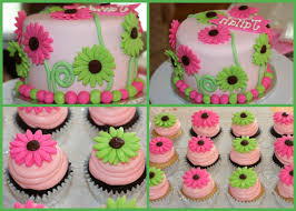flower themed baby shower cakes fascinating purple baby shower