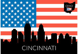 Us Flag Vector Free Download Cincinnati Skyline Gif Gifs Show More Gifs