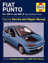 haynes fiat mk2 punto service repair manual 1999 to 2003 petrol