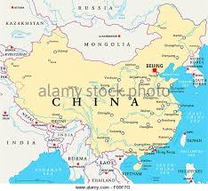 rivers in china map china map river stock photos china map river stock images alamy