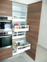armoire en coin cuisine rangement pour armoire de cuisine petit meuble de rangement pour