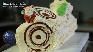 cuisine noel 2014 bûche de noël vanilla buttercream yule log bruno albouze the