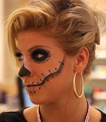 aztec hair style easy halloween makeup and hair ideas