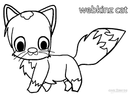 printable webkinz coloring pages kids cool2bkids