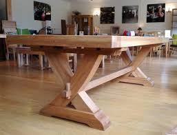 x leg dining table normandy french oak x leg table with 70mm thick top country ways