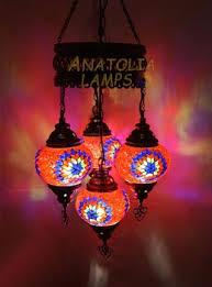 Turkish Chandelier Turkish Mosaic L Chandelier 4 Globe Glass Pendant Light Buy