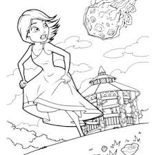 aliens coloring pages