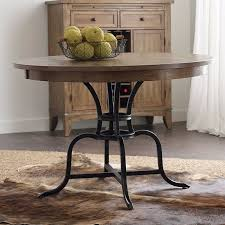 54 inch round dining table endearing the nook 54 inch round metal dining table oak kincaid