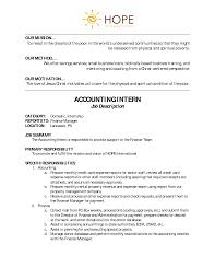 sample accounting internship resume best photos of marketing intern job description samples accounting intern job description