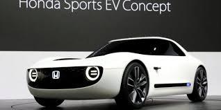 si e auto sport black tokio motorshow suzuki und honda stehen vor dem e auto start motor at