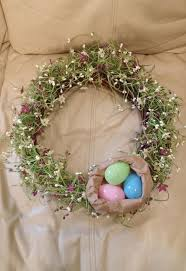 easter decorations on sale easter tweak on a garage sale find wreath hometalk