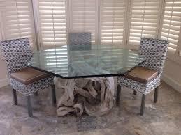 Bassett Dining Room Furniture Driftwood Dining Table Driftwood Dining Table With Black Walnut