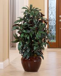 artificial plants artificial mango floor plant for home decorating at petals