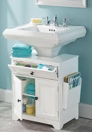 Bathroom Sink Organization Ideas The Elegant And Also Attractive Bathroom Pedestal Sink Storage