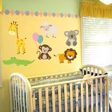 Animal Wall Decals For Nursery Animal Decals For Nursery Baby Animal Wall Stickers