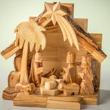 wooden nativity set earthwoodllc olive wood nativity set with carved figures reviews