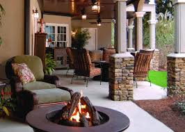 stucco outdoor firepits design ideas creative fireplaces design