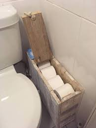 Storage Boxes For Bathroom Bathroom Storage Box Rustic Shabby Chic Toilet Roll Holder