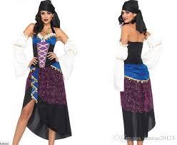 Gypsy Halloween Costume Gypsy Costumes Halloween Role Play Dress Ethnic Minority Dance