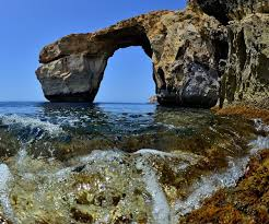 Azure Window Azure Window Beloved Malta Rock Formation Washed Away By Storm