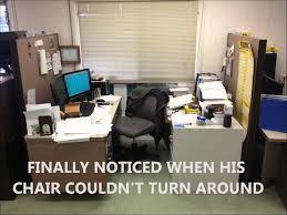 Office Desk Prank Desk Move Prank