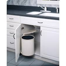 Under Sink Shelves by Rev A Shelf 13 75 In H X 11 In W X 10 5 In D 14 Liter Lacquered