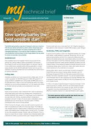 Earthbank Home Plans My Technical Brief February 2017 By Frontier Agriculture Issuu