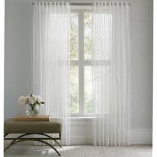 Bed Bath Beyond Sheer Curtains Buy White Rod Pocket Sheer 84 Inch Window Panel From Bed Bath U0026 Beyond