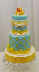 duck cake rubber ducky baby shower cake cake by sugarpixy cakesdecor