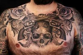 black and grey chest by norris inspiration