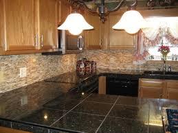 kitchen tile backsplashes free rustic kitchen backsplash tile ideas with oak dj djoly rustic