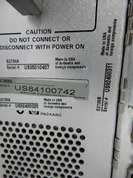 hewlett packard 1946a 1100 series lc msd mass spectrometer agilent