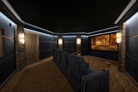 my girlfriend just finished her first home theater design project