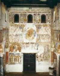 sacred sunday 11th century italian romanesque murals crash course last judgment c 1080 fresco sant angelo formis