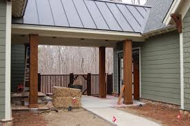 Craftsman Style Garage Plans by Adding Attached Garage With Breezeway Pictures 2 659 Garage