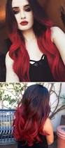 41 best half black half red hair images on pinterest braids