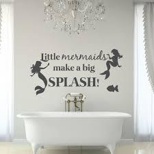 online get cheap big wall stickers girl aliexpress com alibaba beautiful mermaid wall stickers for kids room girls home bathroom vinyl wall decal quote little mermaids make a big splashsyy640