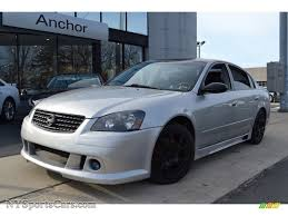 nissan altima 2005 options 2005 nissan altima 3 5 se r in sheer silver metallic 248614