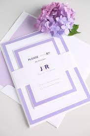 purple wedding invitations modern wedding invitations in purple wedding invitations