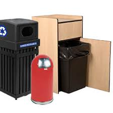 Free Wooden Garbage Bin Plans by Trash And Recycling Containers And Supplies