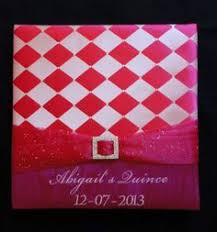 sweet 16 photo albums sweet 16 photo album personalized photo album quinceañera photo