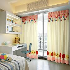 Kid Blackout Curtains Blackout Kids Bedroom Curtains With Patterns Of Cute Chicken