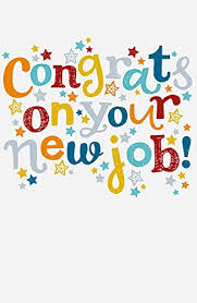 congrats on your new card congrats on your new congratulation multi colour