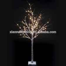 artificial birch trees with lights high quality light up birch tree waterproof window display