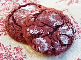 fantastic family favorites red velvet crinkle cookies
