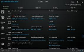 sky guide for android time warner launches android app with remote channel guide and