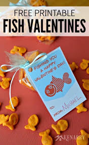 fish valentines fish valentines free printable cards for kids