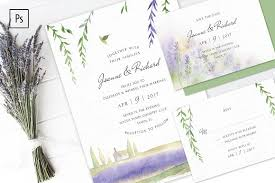 lavender wedding invitations lavender wedding invitation kit invitation templates creative