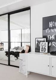 Black And White Bed Copenhagen Black And White Print By Soouk Scandinavian Workspace