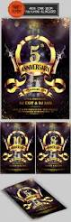 anniversary flyer flyer template anniversaries and fonts